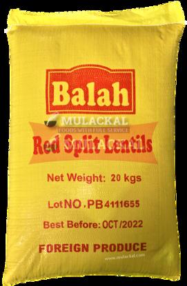 Balah Red Split Lentils 20kg