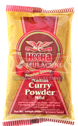 Picture of HEERA Curry Powder (mild) 10x400g