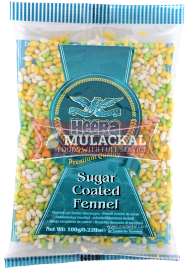 Picture of HEERA Sugar coated fennel seeds 20x100g