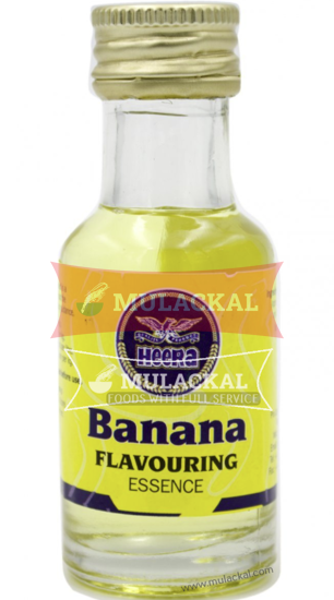 Picture of HEERA Banana Essence Flavour Aroma 12x30g