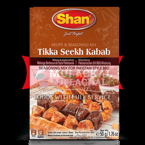 Picture of SHAN Kabab Tikka Seekh Masala Mix 10x50g