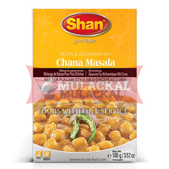 Picture of SHAN Chana Masala Mix 10x100g
