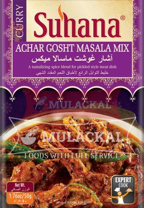 Picture of SUHANA Achar Ghosht Masala Mix 10x50g