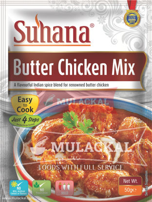 Picture of SUHANA Butter Chicken Mix 12x50g