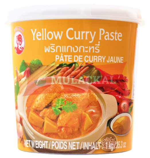 Picture of COCK Yellow Curry Paste 12x1kg
