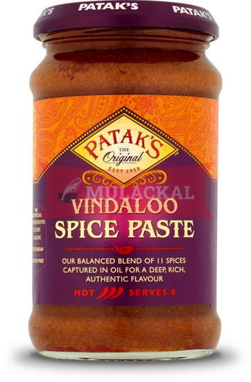 Picture of PATAK Vindaloo Curry Paste 6x250g