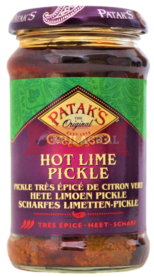 Picture of PATAK Lime Pickle (hot) 6x280g