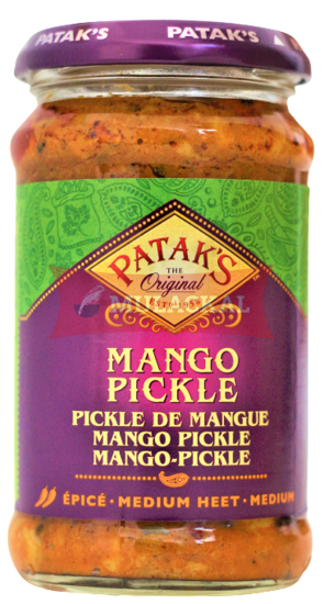Picture of PATAK Mango Pickle (mild) 6x280g