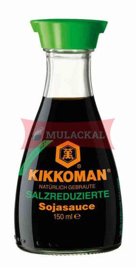Picture of KIKKOMAN Soy Sauce (less salt) 6x150ml