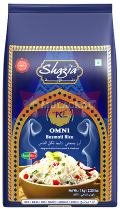 Picture of SHAZIA Omni Basmati Rice 20x1kg