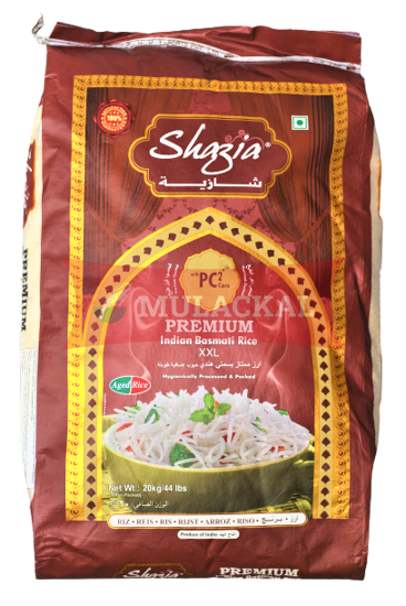 Picture of SHAZIA Premium Basmati Rice 1x20kg