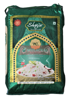 Picture of SHAZIA Golden Sella Basmati Rice 1x20kg