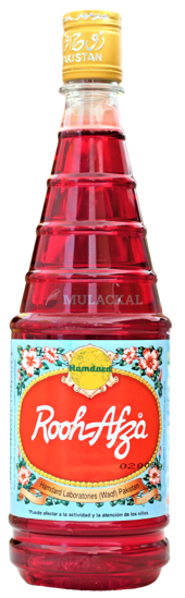 Picture of HAMDARD Rooh Afza Syrup Getränk 12x800g
