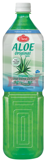 Picture of T'BEST Aloe Vera Drink Original 12x1.5L
