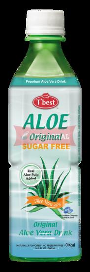 Picture of T'BEST Aloe Vera Drink Sugar Free 20x500ml