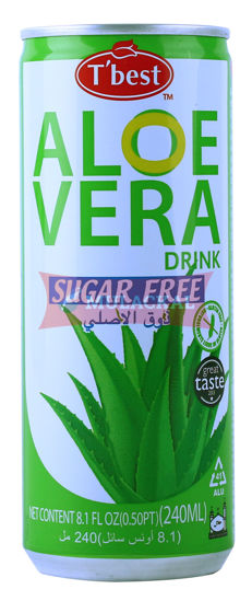 Picture of T'BEST Aloe Vera Drink Sugar Free 30x240ml