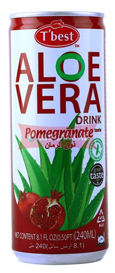 Picture of T'BEST Aloe Vera Pomegranate 30x240ml