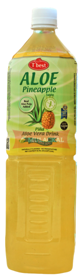 Picture of T'BEST Aloe Vera Pineapple 12x1.5L