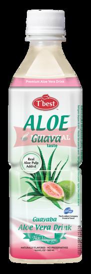 Picture of T'BEST Aloe Vera Guava 20x500ml