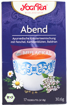 Picture of YOGI TEA Abend Bio 6x30.6g