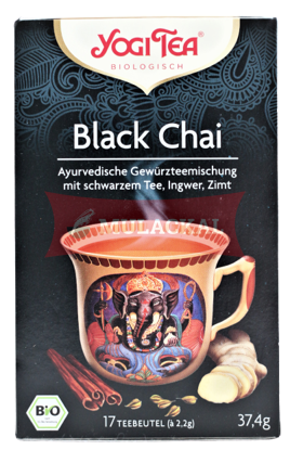 Picture of YOGI TEA Black Chai Bio 6x37.4g