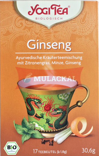 Picture of YOGI TEA Ginseng Flower Bio 6x30.6g