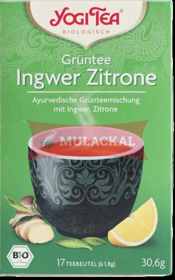 Picture of YOGI TEA Ingwer Zitrone Bio 6x30.6g