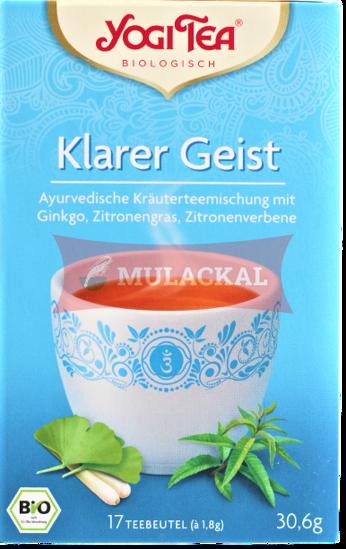 Picture of YOGI TEA Klarer Geist Bio 6x30.6g