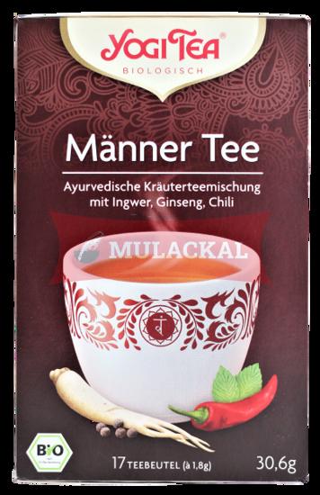Picture of YOGI TEA Männer Tee Bio 6x30.6g