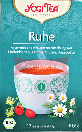 Picture of YOGI TEA Ruhe Tee Bio 6x30.6g