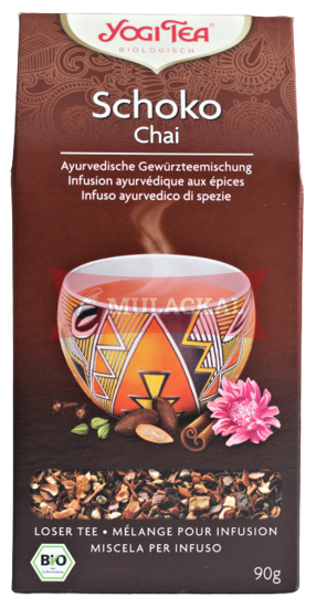 Picture of YOGI TEA Schoko Tee Bio (loose) 8x90g