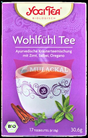 Picture of YOGI TEA Wohlfühl Tee Bio 6x30.6g