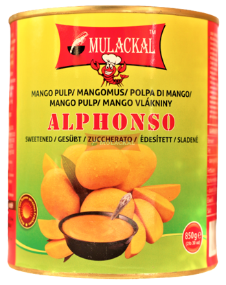 MULACKAL Alphonso Mango Pulp 850g