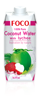 FOCO Coconut Water with Lychee 330ml