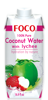 Picture of FOCO Coconut Water with Lychee 12x330ml