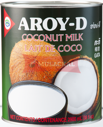 AROY-D Coconut Milk - tin 2.9L