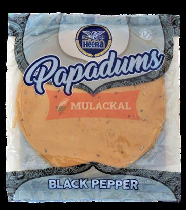 Picture of HEERA Black Pepper Papadam 80x200g
