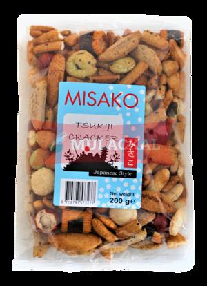 Picture of MISAKO Nori Rice Cracker 6x200g