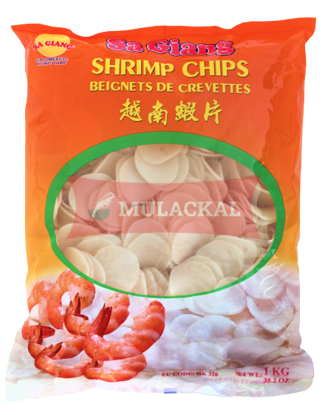Picture of SA GIANG Shrimp Chips unbaked 12x1kg