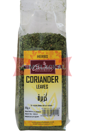 Picture of GREENFIELDS Coriander Leaves 6x50g