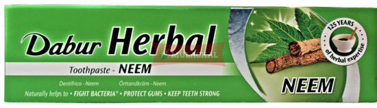 Picture of DABUR Herbal Neem Toothpaste 72x100g