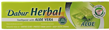 Picture of DABUR Herbal Aloe Vera Toothpaste 72x100g