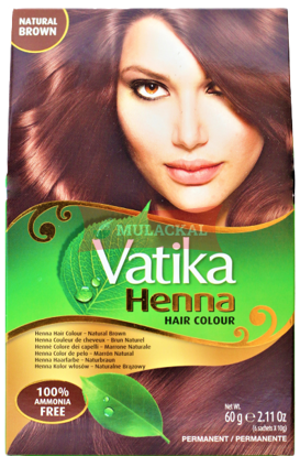 Picture of VATIKA Henna Natural Brown 24x60g