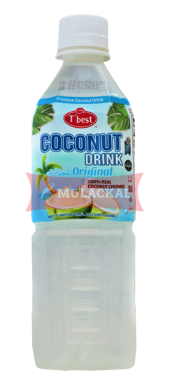 T'BEST Coconut Drink with Pulp 500ml