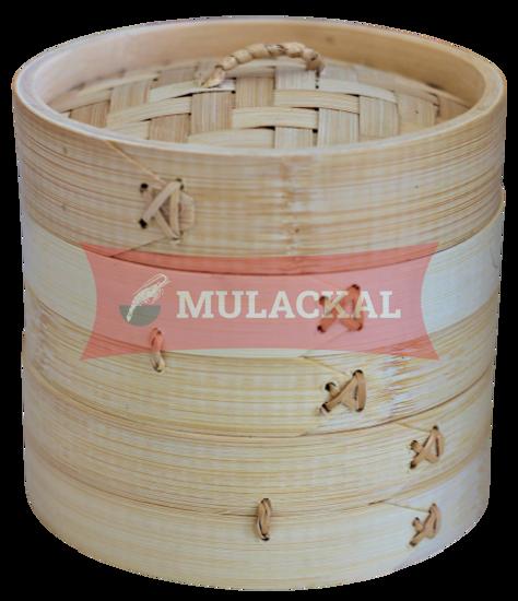 Bamboo Steamer 25cm (1 Cover + 2 base)
