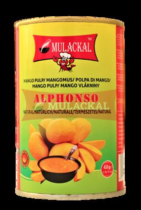 MULACKAL Alphonso Mango Pulp 450g
