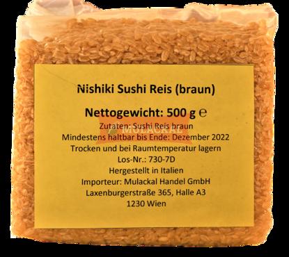 JFC YUME NISHIKI Brown Rice 24x500g