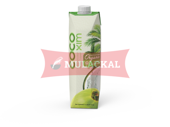 COCOXIM Organic Coconut Water 100% Natural 1L