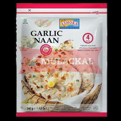 Picture of ASHOKA Tandoori Garlic Naan 4pcs 12x340g