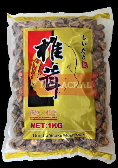 MULACKAL Shiitake Mushrooms whole 1kg
